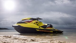Jumping Big Ocean Waves with the new 2015 Sea Doo RXP-X 260 Supercharged with 260hp.  This jet ski has so much power it soars off the top of the waves.  Thanks for watching AdventureLandTV!!!