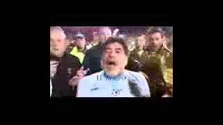 diego maradona kesal nyamperin kamera di gebukan~2015
