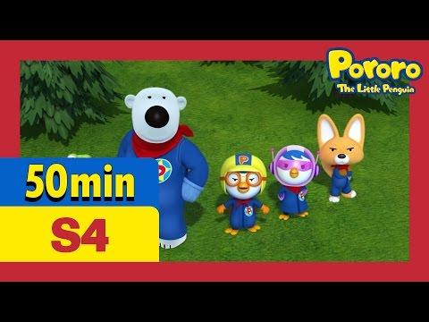 [Pororo S4] Full episodes #16 - #20 (55min) | Kids Animation | Animation Comliation | Pororo