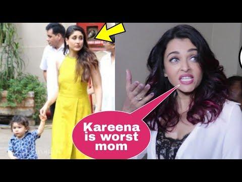 Video Omg! Shocking Aishwarya Rai Bachchan insults Kareena Kapoor Khan in front of media download in MP3, 3GP, MP4, WEBM, AVI, FLV January 2017
