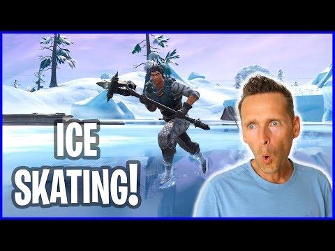 Ice Skating at OLD GREASY!!!