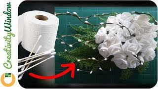 This video shows that cotton buds and toilet papers are not only used for cleaning; they can also be used as decoration materials that cost-friendly always available at supermarkets.MUSIC: Italian Morning by Twin Musicom is licensed under a Creative Commons Attribution license (https://creativecommons.org/licenses/by/4.0/)Artist: http://www.twinmusicom.org/