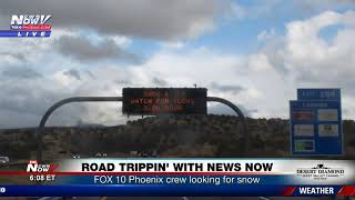 ROAD TRIPPIN' WITH NEWS NOW: Part 1 of FOX 10 Phoenix crew trip to Flagstaff (FNN)