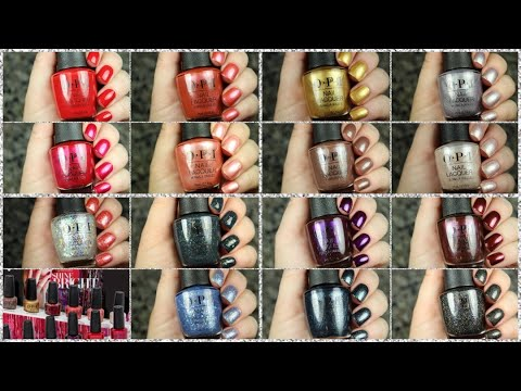 OPI Holiday 2020 | Live Swatch + Comparisons
