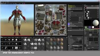 This is a quick workflow of my method for setting up VRay in 3ds Max using maps exported from Substance painter.(EDIT Jan 2017, recently found this 3dsMax script that works really well, http://hocuspocus-studio.fr/tools/product/substance-to-maxvray/)Links used:https://share.allegorithmic.com/libraries/111https://share.allegorithmic.com/libraries/108http://www.openfootage.net/?p=15288http://www.openfootage.net/?p=8887Working file:https://drive.google.com/folderview?id=0B4cTAXwXY3E5dGZVRGxhN2F5b2M&usp=sharingOther resources:https://www.allegorithmic.com/pbr-guidehttps://www.marmoset.co/toolbag/learn/pbr-theoryhttp://www.marmoset.co/toolbag/learn/pbr-practice