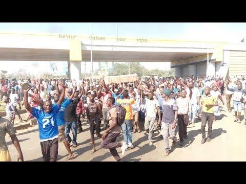 NASA resumes Anti-IEBC demos tomorrow with a rally in Kibra_Űrhajó videók