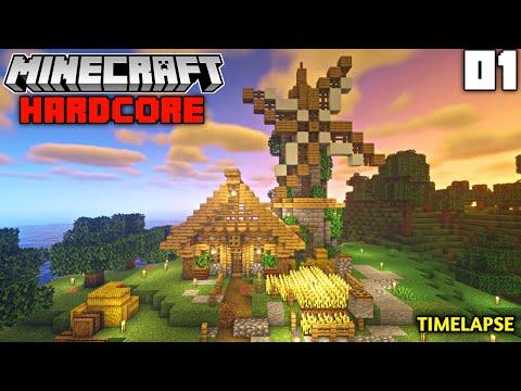 Minecraft Hardcore Survival - New Adventure Begins   Episode 1