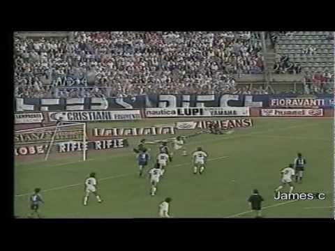 serie a 1988-89: pisa - bologna 0-2!