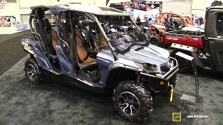 8. 2017 Can Am Commander Max Limited 1000 Side By Side ATV - Walkaround - 2016 AIMExpo Orlando
