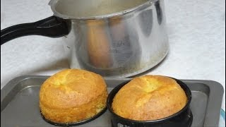 How to bake Cake in Pressure Cooker Video Recipe by Bhavna
