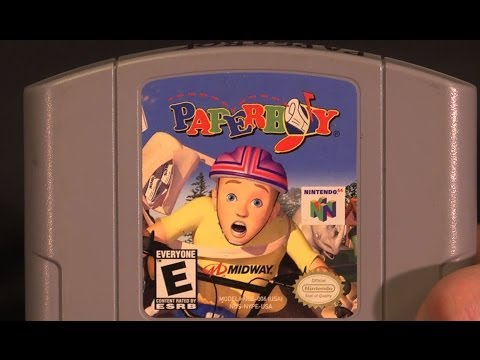 paperboy nintendo 64 review