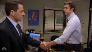 The Office  Michael Says Goodbye to Jim - Momento final entra Michael y Jim