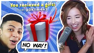 Pokimane Surprises TSM Myth for his Birthday?! Fortnite Duos!