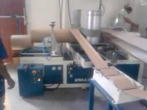 Tubeteira - Maquina para fabricar barricas espirais Vmaxx modelo 320-03P, produz barricas espirais para envaze de tintas, texturas, massas, grafiatos resinas colas etc. ...