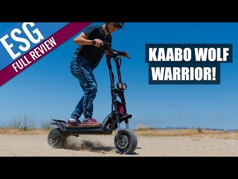 Kaabo Wolf Warrior Comprehensive Review - The Best Scooter Under $3k??