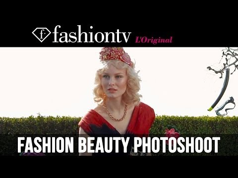 fashiontv - http://www.FashionTV.com/videos MILAN - FashionTV brings you this video of the cover photo shoot for its fourth issue: Apirl - May 2014. The model wears brig...