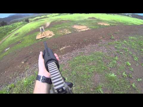 FPS using the AR15 & H&K P30