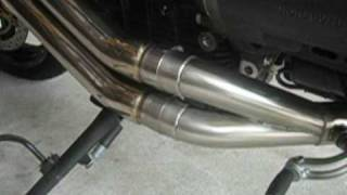 8. Moto Guzzi Griso with the GuzziTech GT-RX Pipe