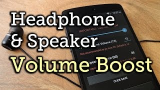 Nexus 5 Real Volume Booster YouTube video