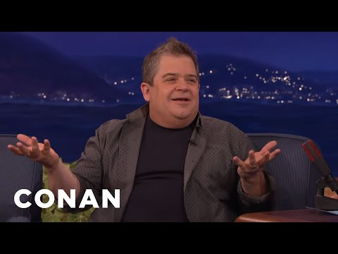 Patton Oswalt Talks to Conan About How He's Coping With His Wife's Passing