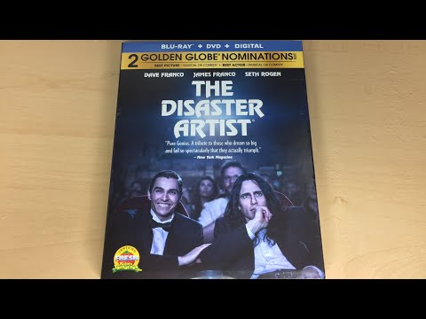 The Disaster Artist - Blu-ray Unboxing