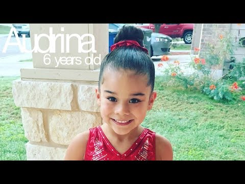 Audrina - Amazing 6 year old gymnast! (видео)