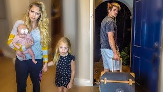 Video Cole Left Us... Savannah's first time alone with 2 kids. MP3, 3GP, MP4, WEBM, AVI, FLV Maret 2019