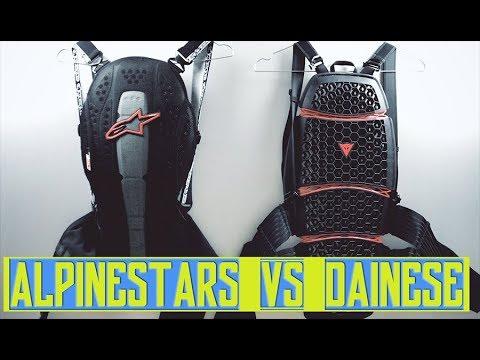 Unboxing NUOVO PARASCHIENA! (Back Protector) - DAINESE VS  ALPINESTARS (Quad, Moto)