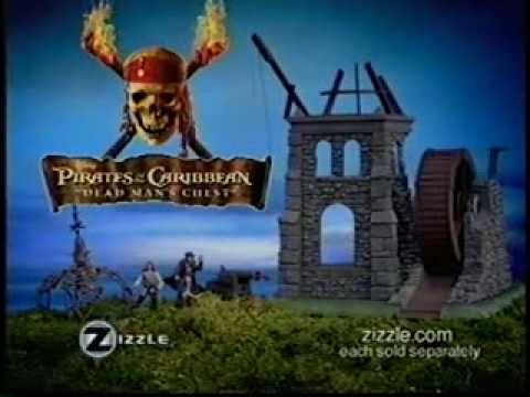 Zizzle Pirates of the Caribbean toys (2005)
