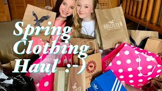 Hey guys so its been a while since I done a haul video. Since I have out grown all my clothes it is time for some new ones. So me and my bestie CC hit the mall to find some New clothes for spring 2017.Here is a list of the stores we hit.Abercrombie kids,pacsun,victorias secret,adidas,converse,hot topic,hollister,american eagle outfitters and journey kids. We had a absolute blast shopping at the mall and decided that we would show you guys whats in our closets this spring. Thanks so much for watching and supporting my channel.Please remember to Like, share and subscribe.Love Ella & CCxoxoFan mail address:princess ella's world3070 Lakecrest circle suite 400-264Lexington, KY 40513 click the link for my instagram https://www.instagram.com/princess_ellas_world/my musical.ly isella_dancer_32