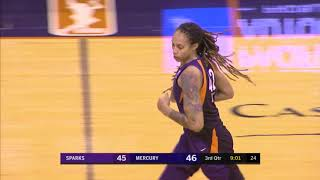 Leilani Mitchell Hauls In 22 PTS and 7 REB by WNBA