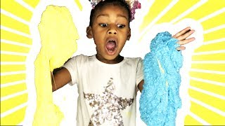How To Make Dried Crispy Fluffy Slime with Naiah and Elli. This Youtube Kids video is a cute Kids DIY or life Hack. We love fluffy slime, crunchy slime, gold slime and 2 ingredient slime too.