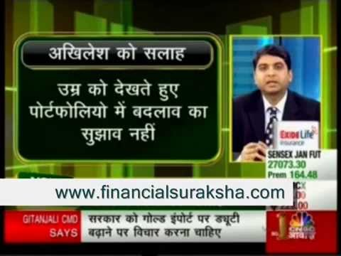 Insurance Advice – Harshvardhan Roongta CFP – Roongta Securities On CNBC Awaaz Your Money 07/01/2015