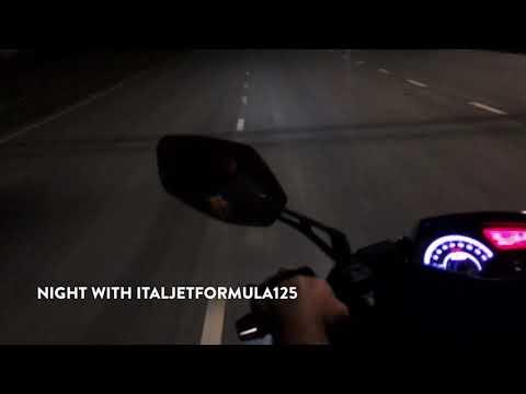 Night with italjet formula 125