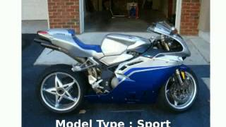 2. 2006 MV Agusta F4 1000S 1+1 -  Info motorbike Specs Features superbike Details Dealers