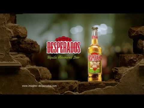 Desperados Tequila Flavoured Beer TV commercial