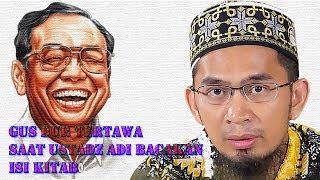 Video Gus Dur Tetawa Saat Ustadz Adi Membacakan Isi Kitab MP3, 3GP, MP4, WEBM, AVI, FLV Oktober 2018