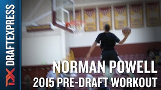 Norman Powell 2015 NBA Draft Workout Video