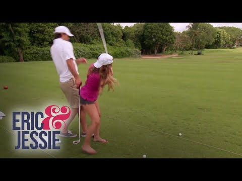"""Eric and Jessie"" Hit the Green 