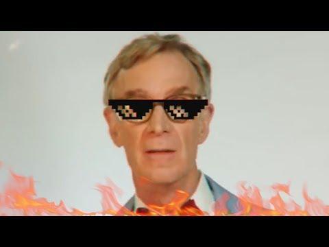 Bill Nye Spits Fire  [EXPLICIT]