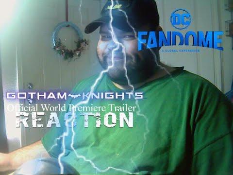 Batman: Gotham Knights DC Fandome Official World Premiere Trailer Reaction