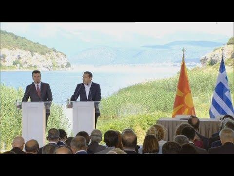Αλ. Τσίπρας: Πατριωτική και αμοιβαία επωφελής συμφωνία για τους δύο λαούς