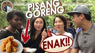 Video JUALAN PISANG GORENG DI TOKYO! LARIS! KOK BISA? 五月祭 MP3, 3GP, MP4, WEBM, AVI, FLV Juli 2018