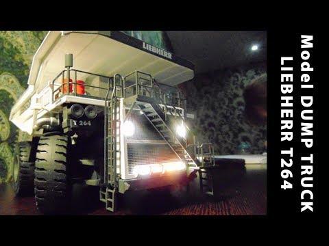 Радиоуправляемая модель карьерного самосвала LIEBHERR T264 Litronic