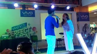Aldy Maldini ft Salshabilla Adriani - Cinta dan Rahasia (cover) JAMBI 8 Oktober 2017