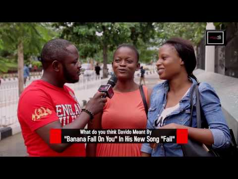 """Banana Fall On you"" What does this line mean in Davido's  new track ""Fall""?  DelarueTV 