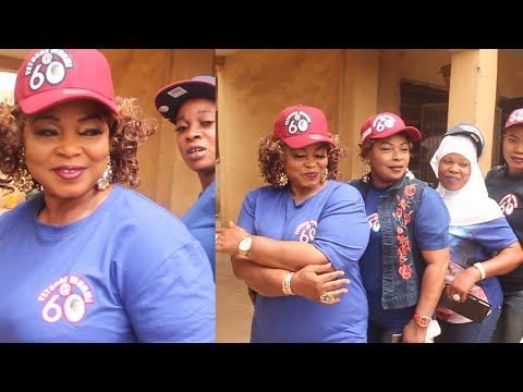 YETUNDE WUNMI MINGLE WITH FRIENDS BEFORE GOING TO THE MOTHERLESS BABY HOME TO CELEBRATE FOR HER 60TH