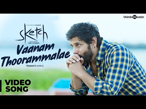 Download Sketch   Vaanam Thoorammalae Video Song   Chiyaan Vikram, Tamannaah   Thaman S HD Mp4 3GP Video and MP3