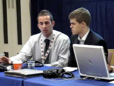 Magnus Carlsen Round 1 Press Conference Part 1