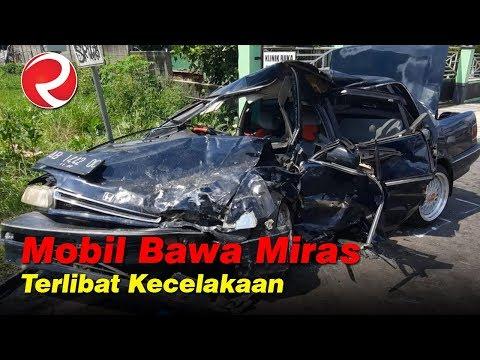 Mobil Bermuatan Miras Terlibat Kecelakaan di Boyolali